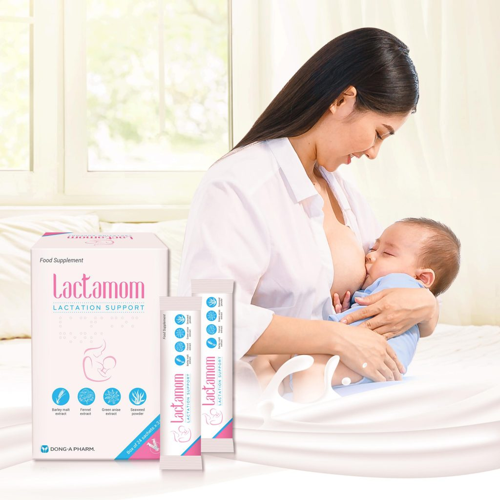 cốm lợi sữa Lactamom được nhiều bác sĩ khuyên dùng giúp mẹ cung cấp nguồn sữa dồi dào và dinh dưỡng cho bé